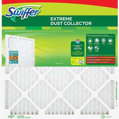 16 in. x 24 in. x 1 in. Extreme Dust Collector Air Filter