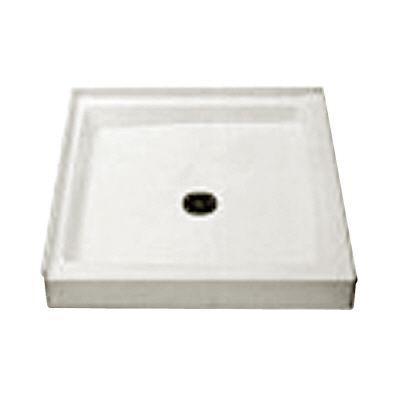 FIAT Cascade 42 in. x 34 in. Single Threshold Shower Floor, White