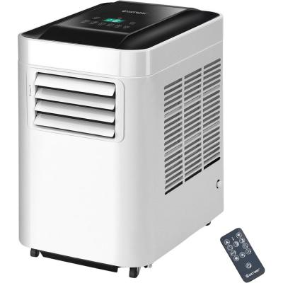 10000 BTU Portable Air Conditioner AC Unit and Dehumidifier LCD in White with Remote Control