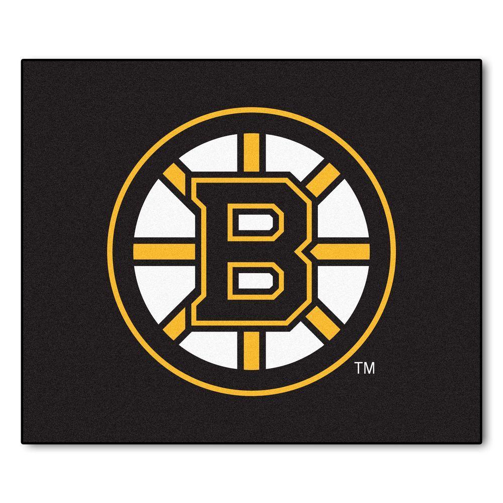 Fanmats Boston Bruins 5 Ft X 6 Ft Tailgater Rug 10493
