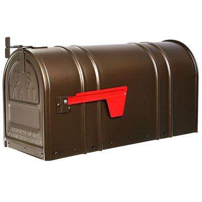 Carlton Post-Mount T2 Mailbox, Bronze