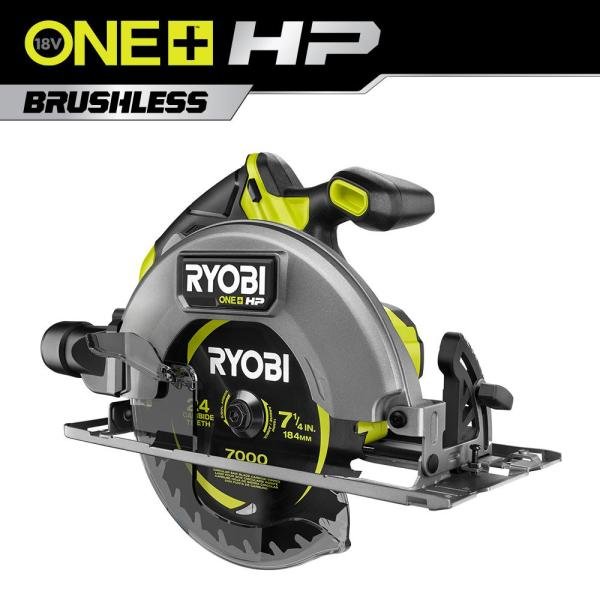 ONE+ HP 18V Brushless Cordless 7-1/4 in. Circular Saw (Tool Only)
