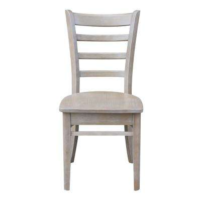 Weathered Gray Emily Chair (Set Of 2)