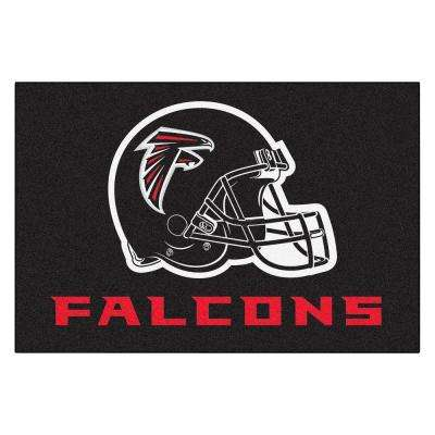 NFL Atlanta Falcons Red 2 ft. x 3 ft. Indoor Area Rug
