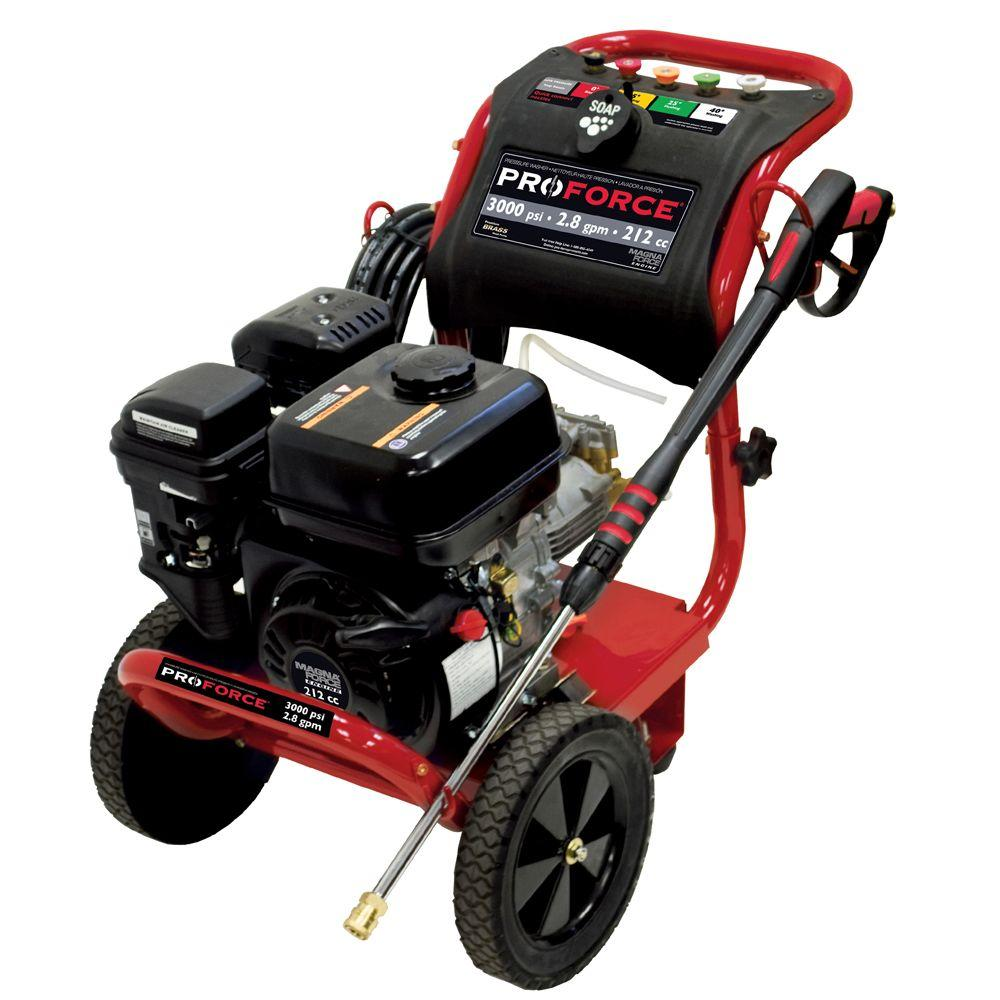 ProForce 3000-PSI 2.8-GPM Gas Pressure Washer-DISCONTINUED