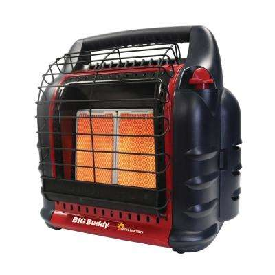 18,000 BTU Portable Radiant Propane Big Buddy Heater