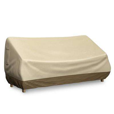 58 in. Water Resistant Outdoor Patio Furniture Cover