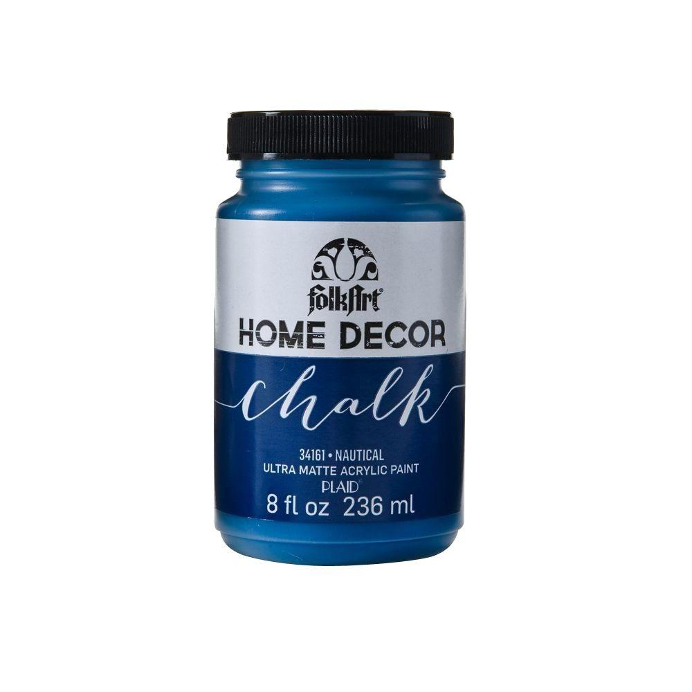 Folkart Home Decor 8 Oz Nautical Ultra Matte Chalk Finish Paint