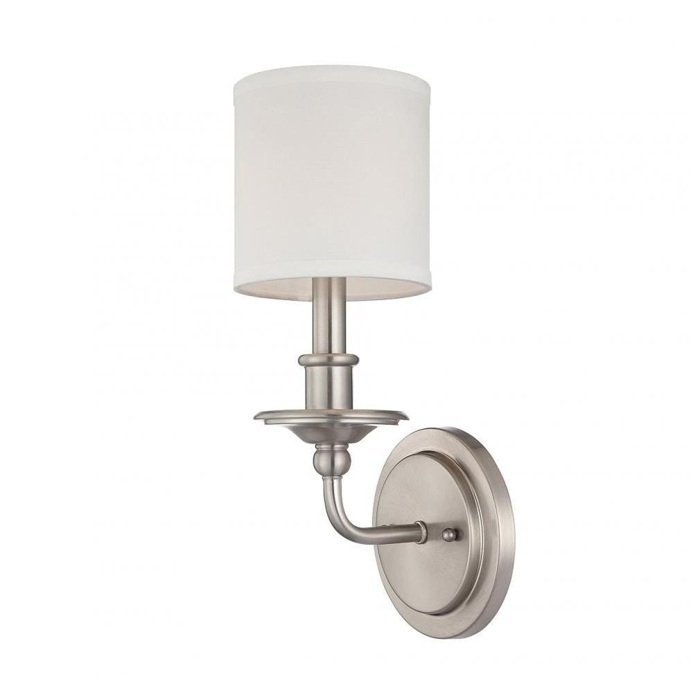 Filament Design Aeneas Polished Nickel Wall Sconce