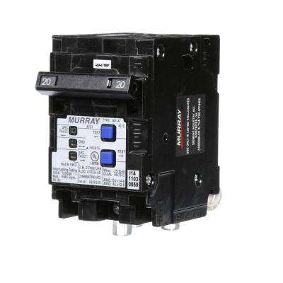 20 Amp Double-Pole Type MP-AT Combination AFCI Circuit Breaker