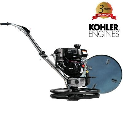 24 in. Concrete Finishing Kohler Walk Behind Edging Power Trowel with 6HP CH260 Kohler Engine