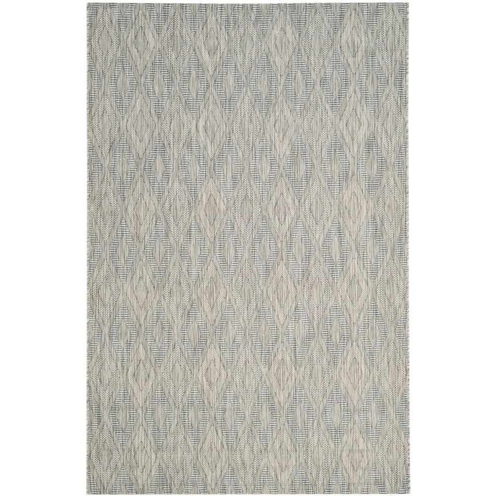 Courtyard Gray 5 ft. 3 in. x 7 ft. 7 in.