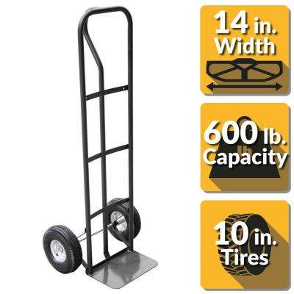 600 lbs. Capacity P-Handle Truck