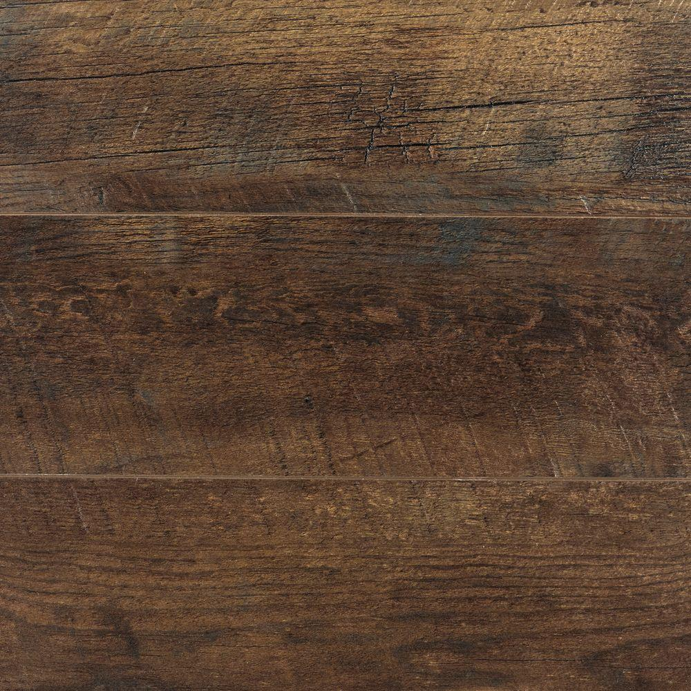 Home Decorators Collection Eir Medora Hickory 12 Mm Thick X 6 7 16 In
