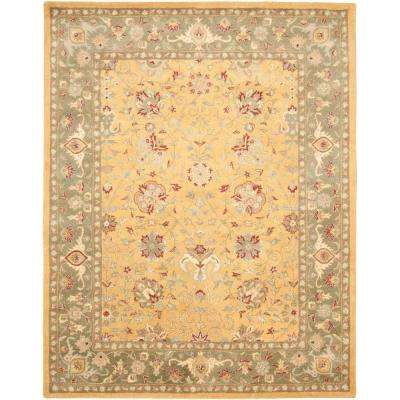 Antiquity Gold 10 ft. x 14 ft. Area Rug