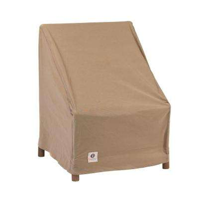 Essential 28 in. W Stackable Patio Chair Cover