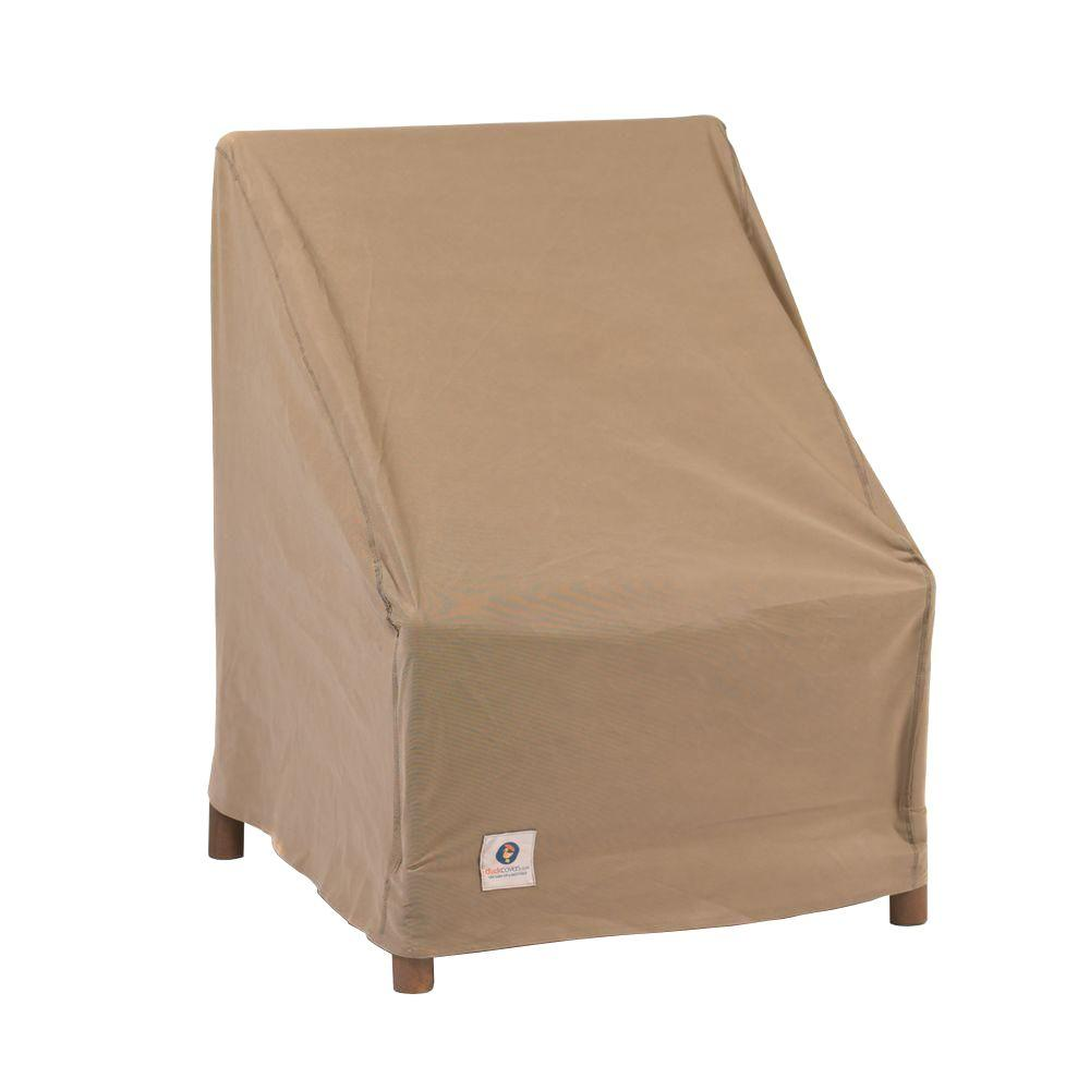 Duck Covers Essential 28 In W Stackable Patio Chair Cover