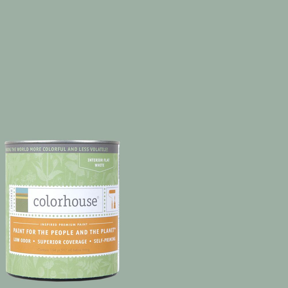 1 qt. Water .06 Flat Interior Paint
