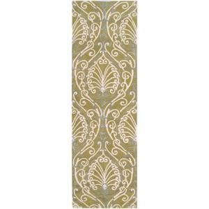 Candice Olson Chartreuse 2 Ft. 6 In. X 8 Ft. Rug Runner