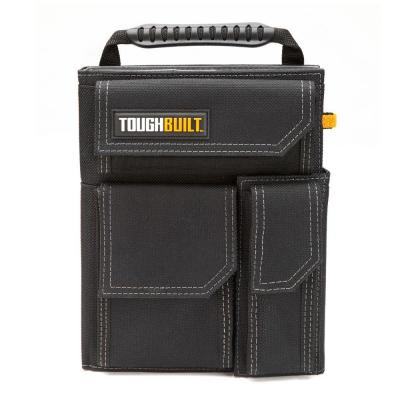 7.75 in. Black Organizer and Grid Notebook