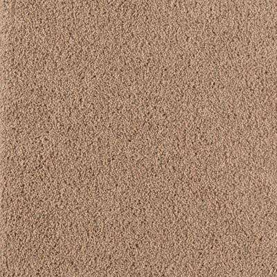 Drag Race II - Color Walnut Shell Texture 12 ft. Carpet