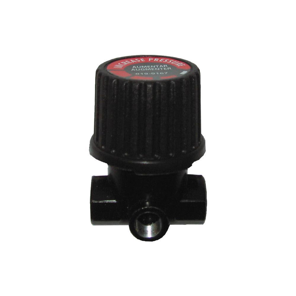 Powermate 1/4 in. NPT Inlet/Outlet x 1/8 in. NPT Gauge Pressure Regulator
