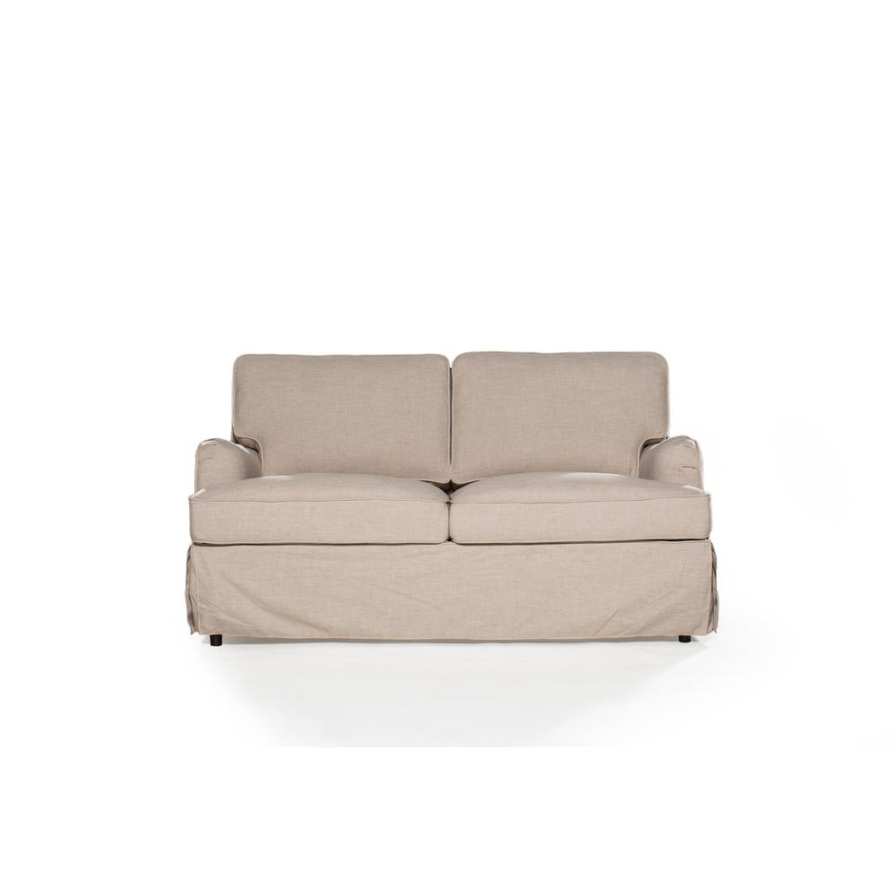 Sofas 2 Go Delaney Sand Loveseat