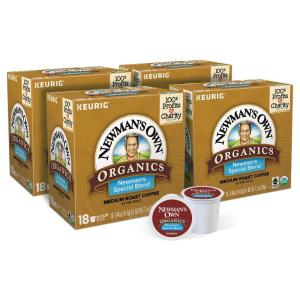 Newmans Own Organics Special Blend K-Cups (72-Counts)