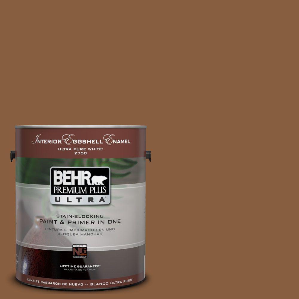 BEHR Premium Plus Ultra 1-Gal. #UL150-18 Spice Bazaar Interior Eggshell Enamel Paint