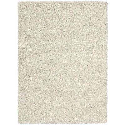 Amore Bone 7 ft. 10 in. x 10 ft. 10 in. Area Rug