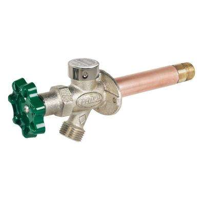 1/2 in. x 4 in. Brass MPT x SWT Heavy Duty Frost Free Anti-Siphon Outdoor Faucet Hydrant