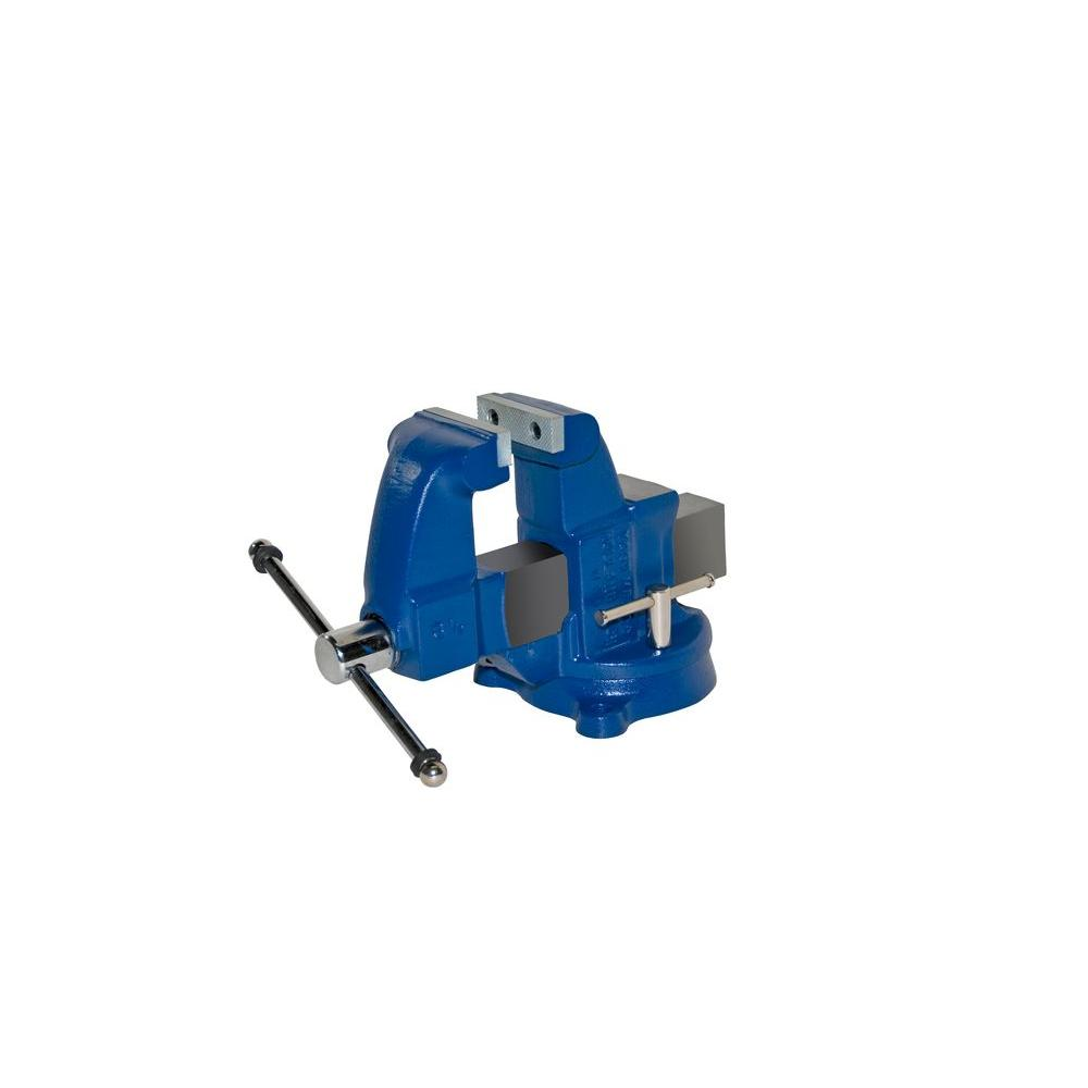 3-1/2 in. Heavy-Duty Machinists Vises - Swivel Base