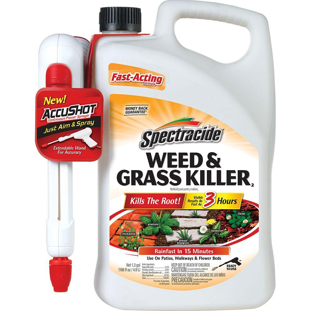 Spectracide Weed and Grass Killer 1.3 gal. Accushot Sprayer