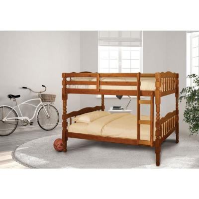 Catalina Twin Bunk Bed in Oak finish
