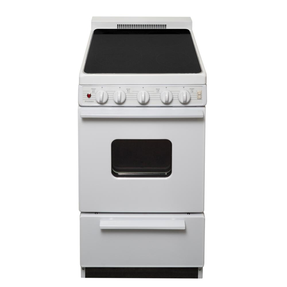 20 in. - Freestanding - Electric Ranges - Ranges - The Home Depot