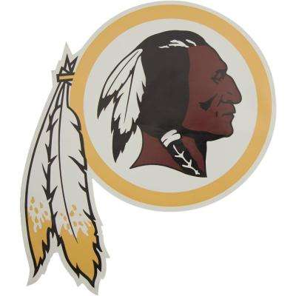 NFL Washington Redskins Outdoor Logo Graphic- Large