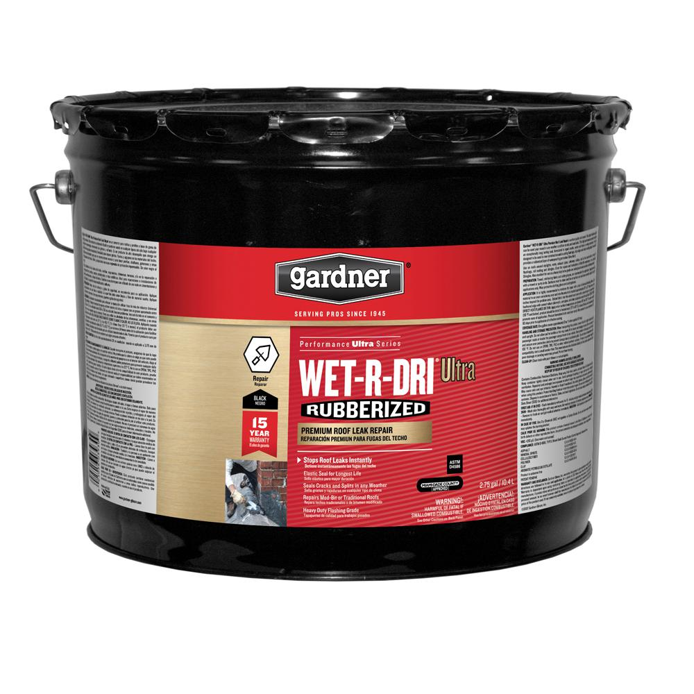 2.75 Gal. Wet-R-Dri Ultra Premium Roof Leak Repair (18-Pallet)