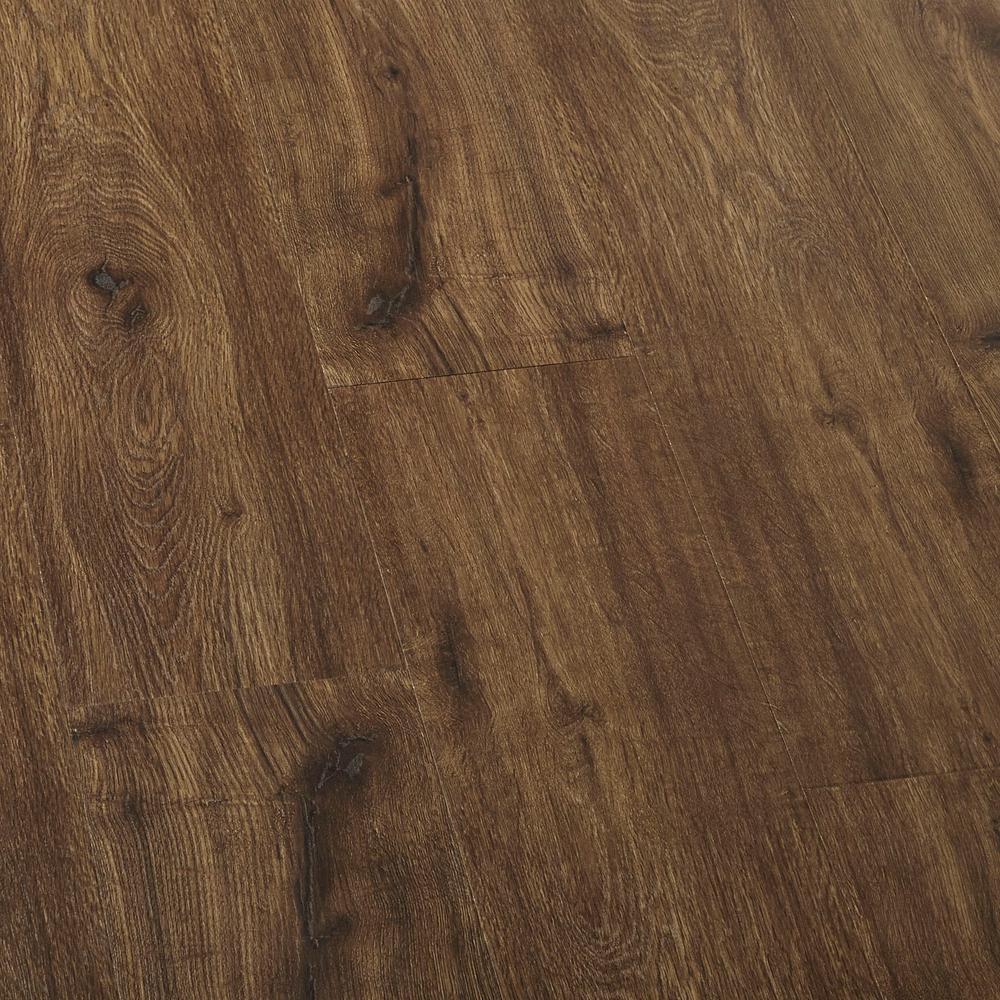 EIR Hillcrest Oak Laminate Flooring - 5 in. x 7 in. Take Home Sample