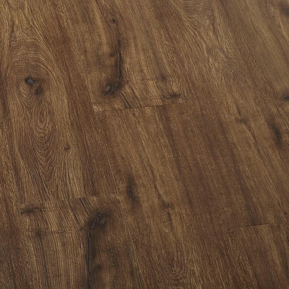 Who Installs Flooring For Home Depot: LifeProof EIR Hillcrest Oak Laminate Flooring