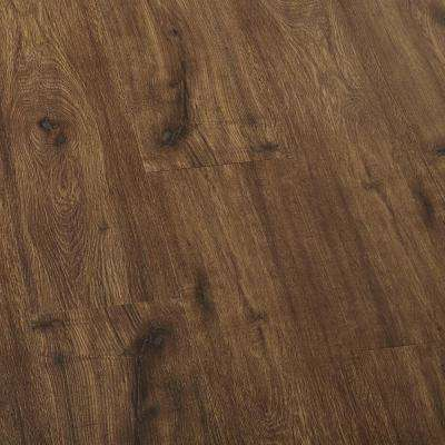 EIR Hillcrest Oak Laminate Flooring - 5 in. x 7 in. Take Home Sample