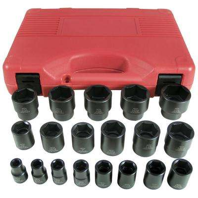 19-Piece Impact Socket Set