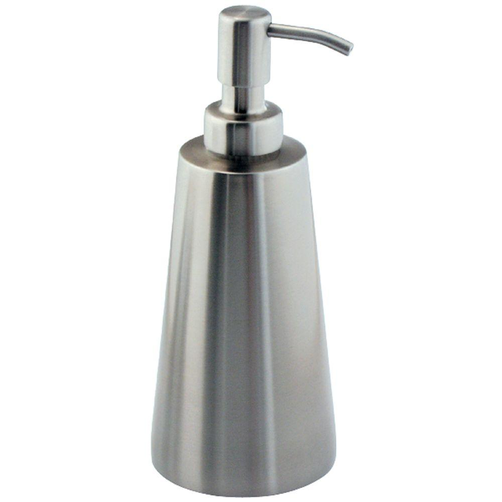 interDesign Koni Soap Dispenser in Brushed Forma Stainless Steel