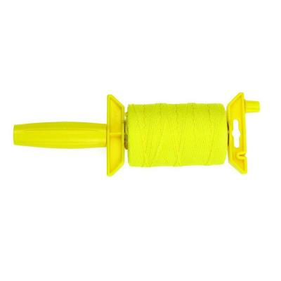 #18 x 500 ft. Nylon Braided Mason Twine with Reloadable Winder, Yellow