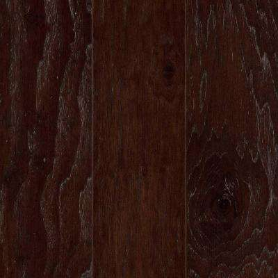 Take Home Sample - Hamilton Canyon Brown Hickory Engineered Hardwood Flooring - 5 in. x 7 in.