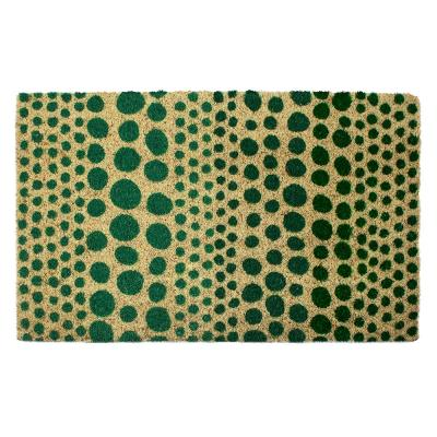 Confetti Coir 28 in. x 17 in. Door Mat with Backing