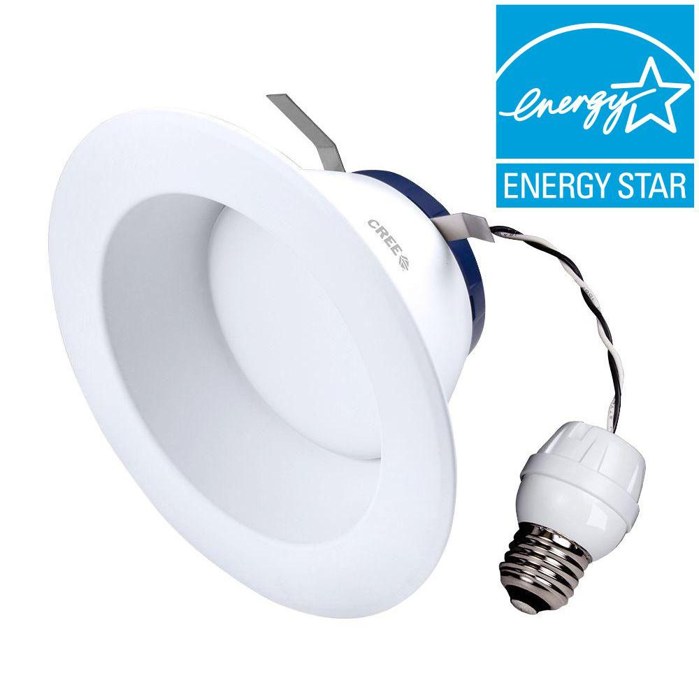Cree TW Series 65W Equivalent Daylight (5,000K) 6 in. Dim...