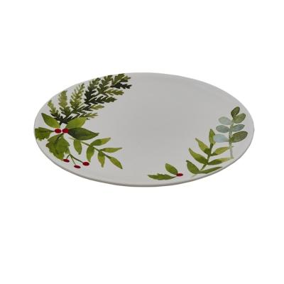 Winterberry Ceramic Platter
