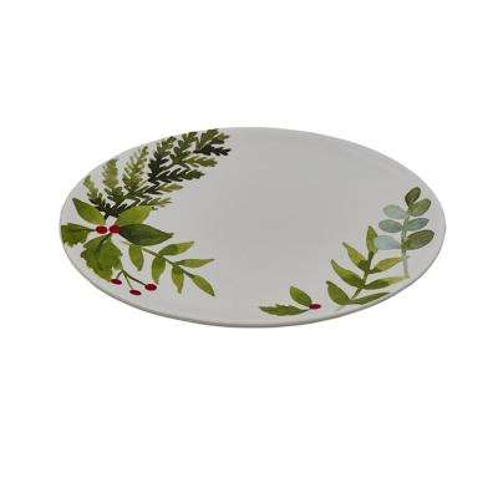 Winterberry Ceramic Platter