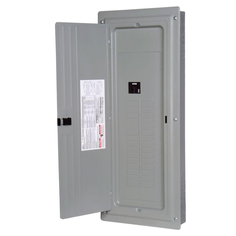 Murray 200 Amp 40-Space 40-Circuit Main Breaker Load Center ...