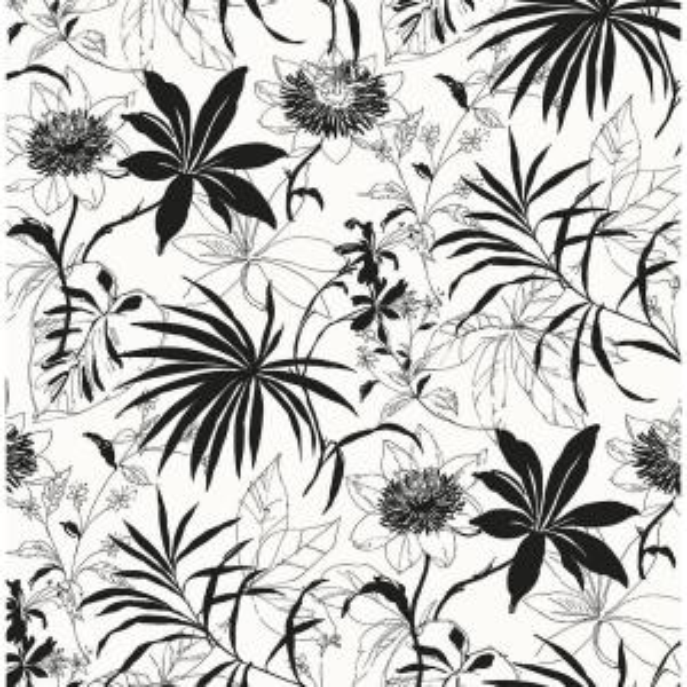 Tropical Garden Bohemian Peel and Stick Wallpaper 30.75 sq. ft.